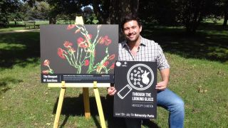 """Matthew Williamson wins public vote for best image in """"Through the Looking Glass"""" exhibition"""
