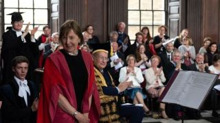 Frances Ashcroft awarded Honorary Doctorate