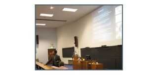 Prof Masud Husain addresses the Autumn School during his talk 'Understanding the Inattentive and Impulsive Brain.'