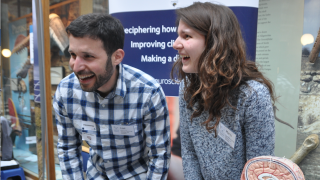 Brainy DPAG researchers engage with the public at the Museum of Natural History