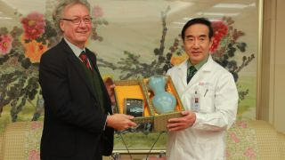 Strengthening connections across the world: Head of Department visits China's leading hospital and Peking University