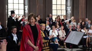 Professor Dame Frances Ashcroft awarded Honorary Doctorate