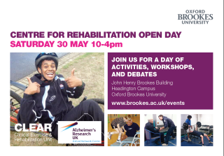 Brookes Open Day may 2015