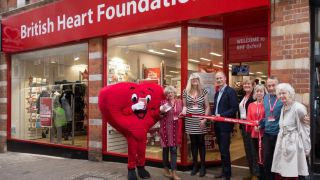 Charity shop's help with heart research