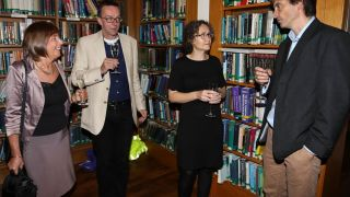 Group Leaders' dinner: DPAG welcomes new Head of Division, Professor Gavin Screaton