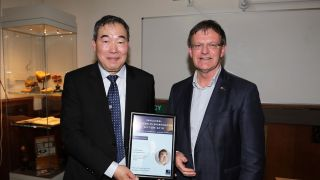 Professor Mu-Ming Poo delivers inaugural Sir Charles Sherrington Lecture