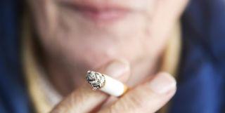 Radiotherapy smoking