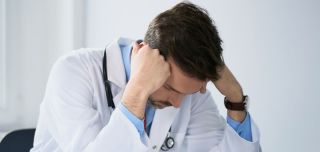 Stressed dr