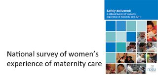 Women seeking pregnancy health care earlier survey finds