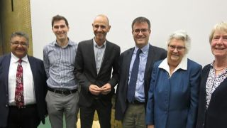 A symposium to discuss topics around talking about dying was recently held at St Catherine's College in Oxford.