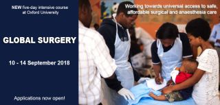 Do you want to contribute to the provision of high quality surgical care globally, particularly in low and middle income countries? Join our new course with the University's Continuing Education department.