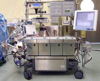 A heart lung machine