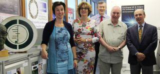 Professor Maroeska Rovers; Professor Anne Schilder; Professor Martin Burton; Sir Iain Chalmers; and Professor Rich Rosenfeld