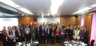 On friday 30th january the uk tavi trial held its first investigators meeting at 11 cavendish square london