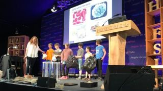 Oxford scientists present skeleton session at Hay Festival 2017