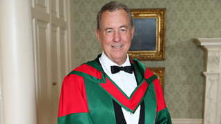Executive Director of The George Institute, UK, Professor Terry Dwyer has been awarded an honorary doctorate by Trinity College Dublin for his extensive work in child health.