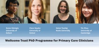 Meet the first cohort of Wellcome Trust Fellows
