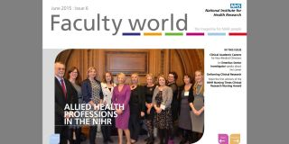 Issue 6 faculty world