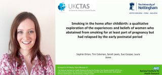 Smoking in the home after childbirth