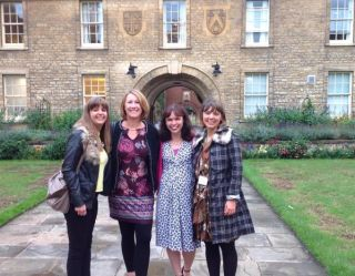 Trainees from left: Rachel Ryves, Jane Vennik, Clare McDermott and Clare Oakland