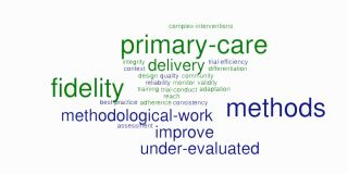 New systematic review of methods to evaluate implementation fidelity in primary care trials