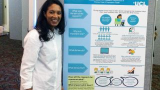 Best Poster Prize winner for SPCR trainee at NIHR 'Research leaders of the future' event
