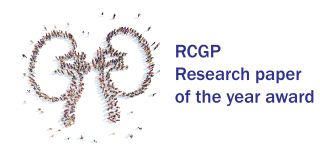 rcgp research paper of the year award
