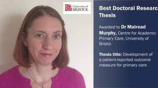 Best Doctoral Research Thesis prize goes to SPCR trainee