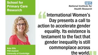 #BeBoldForChange on International Women's Day 2017