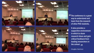 Southampton holds phd day to gain critical feedback on work in progress