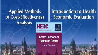 HERC currently offers two courses in health economics for external participants. Places are available on the one day 'Introduction to Health Economic Evaluation' course taking place in April 2018 and the three day 'Applied Methods of Cost-Effectiveness Analysis' course taking place in July 2018.