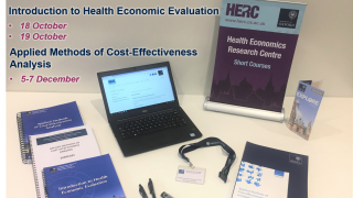 HERC currently offers two courses in health economics for external participants. Places are available on the one day 'Introduction to Health Economic Evaluation' course taking place in October 2018 and the three day 'Applied Methods of Cost-Effectiveness Analysis' course taking place in December 2018.