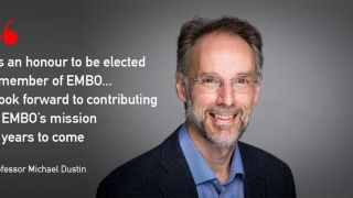 Many congratulations to Professor Michael Dustin on his election as a member of the European Molecular Biology Organisation (EMBO).