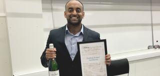 Pradeep brs award