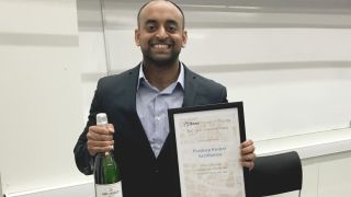 Kennedy DPhil student wins best oral talk at national conference