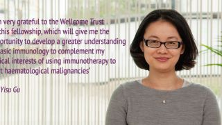 Kennedy investigator awarded Wellcome Trust Clinical Fellowship