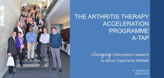 A workshop for curing arthritis sooner a tap