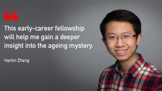 Congratulations to Hanlin Zhang for being awarded the first Oxford-Elysium Fellowship in cellular health.