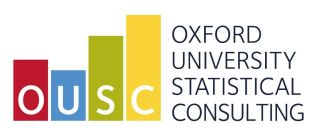 Oxford university statistical consultancy