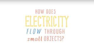 Oxford Sparks latest animation: How does electricity flow through small objects?