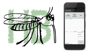 Researchers from Engineering Science, Zoology and Kew Gardens have developed a way of alerting people to the presence of mosquitoes with an app that detects their distinctive buzz.