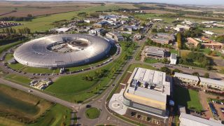 The Harwell Campus from the air (Courtesy of Harwell Campus)