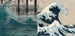 Famous freak wave recreated in lab mirrors hokusai2019s 2018great wave2019