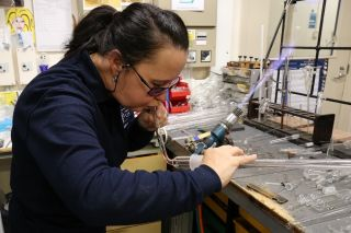 Scientific glassblowing a beautiful and endangered craft