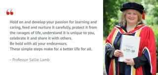 Professor sallie lamb honorary degree 1
