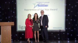 NDORMS Apprentice is the Oxfordshire Apprentice of the Year 2018