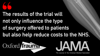 Improved outcomes for patients with fracture of the distal tibia
