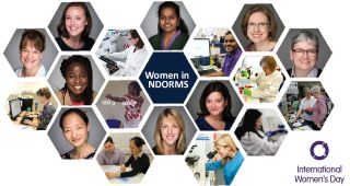 On International Women's Day 2018, we are celebrating all NDORMS women and men who work together with these women towards gender equality.