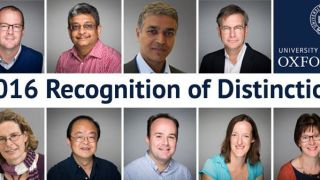 Recognition of Distinction 2016