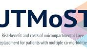 Risk-benefit and costs of unicompartmental (compared to total) knee replacement for patients with multiple co-morbidities: a non-randomised study, and different novel approaches to minimise confounding.